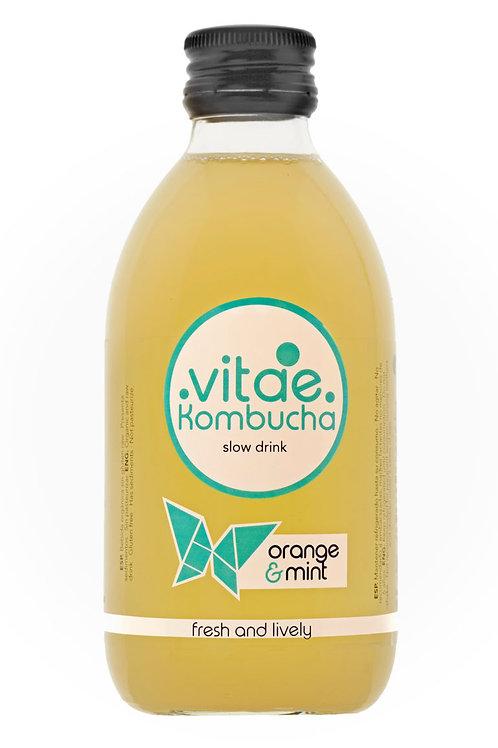 Vitae Kombucha - Naranja y Menta