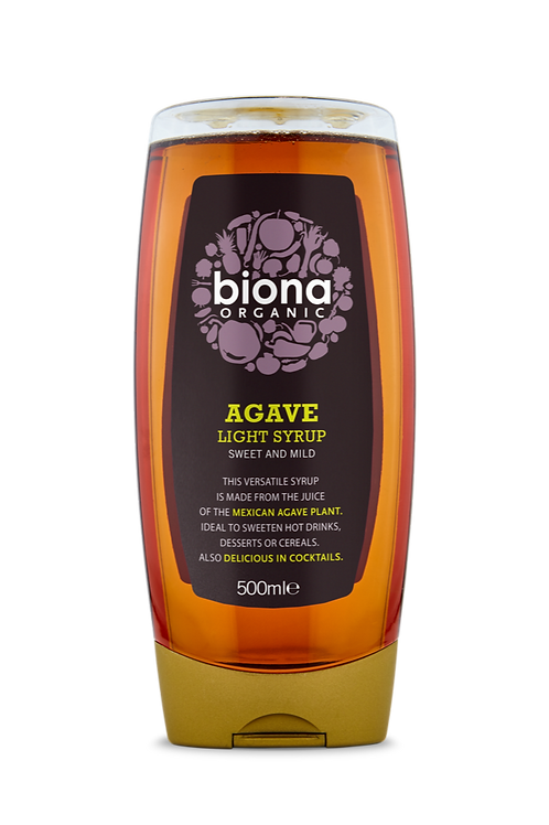 Biona Organic Agave Light Syrup 500ml