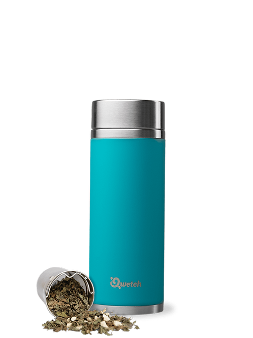 Qwetch Tea mug Originals - Turquoise 300ml