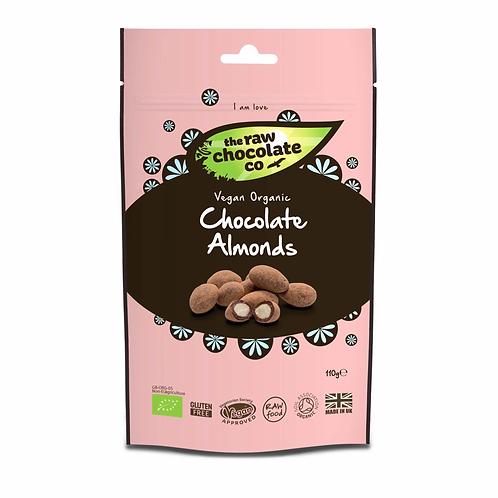 Raw Chocolate Co - Chocolate Almonds 110g