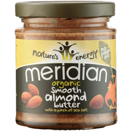Meridian Organic Smooth Almond Butter 170g