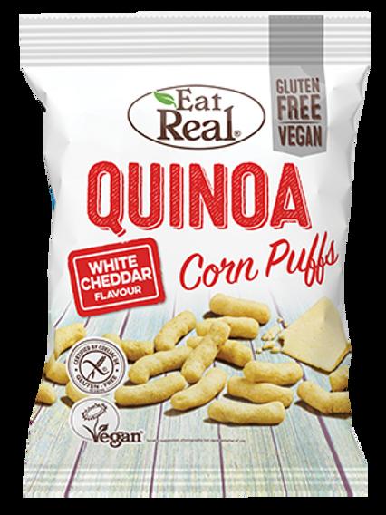 Eat Real Quinoa Puffs - White Cheddar 40g