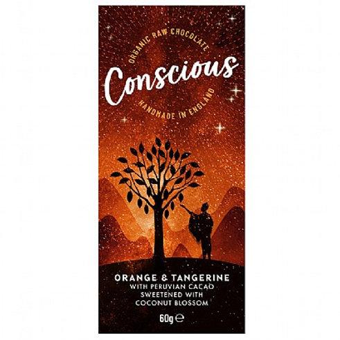 Conscious Chocolate - Orange & Tangerine 60g
