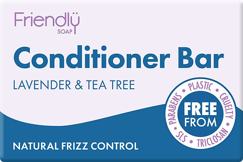 Friendly Conditioner Bar - Lavender & Tea Tree