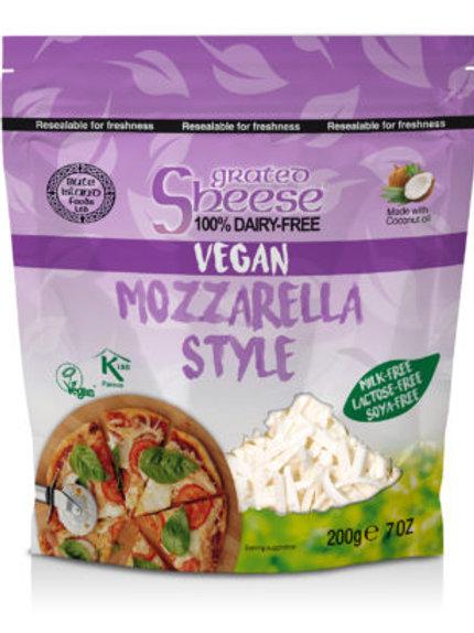 Sheese Vegan Cheese Grated Mozzarella Style