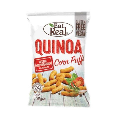 Eat Real hojaldres de maíz y quinua  - Mediterráneo 40g