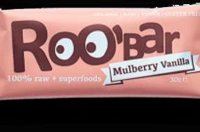 Roo Bar - Mulberry Vanilla 30g
