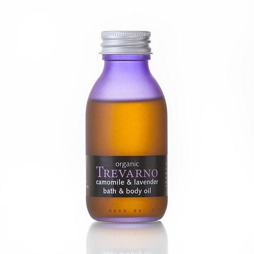 Camomile & Lavender Bath & Body Oil 100ml