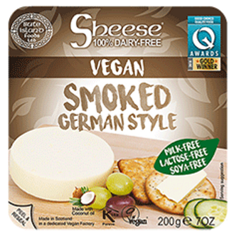 Queso Vegano Sheese Ahumado Estilo Alemán 200g