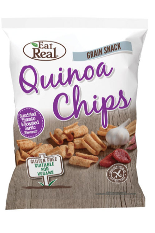 Eat Real Quinoa Chips - Tomato & Roasted Garlic 80g