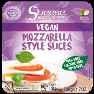 Sheese mozzarella slices
