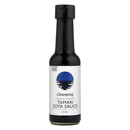 Clearspring Japanese Tamari Soya Sauce - 150ml sin gluten