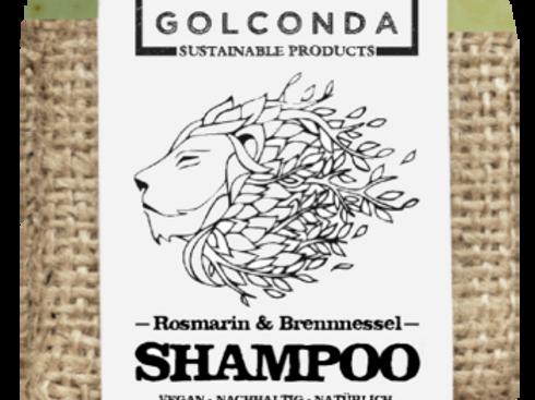 Golconda Shampoo Bar - Rosemary & Nettle