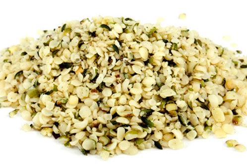 Semillas de cáñamo sin cáscara por 100 g