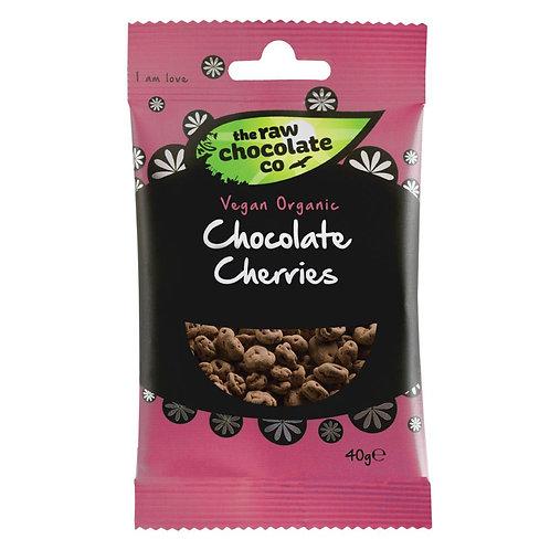 Raw Chocolate Co - Chocolate Cherries 40g