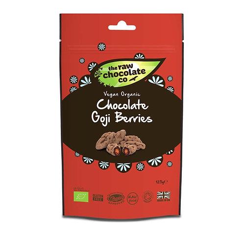 Raw Chocolate Co - Bayas de chocolate Goji 125g