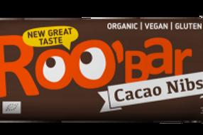 Roo Bar - Cacao Nibs 30g
