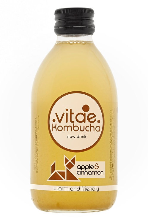 Vitae Kombucha- Apple & Cinnamon 250ml
