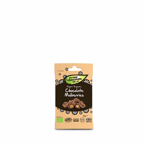 Raw Chocolate Co - Chocolate Mulberries 28g