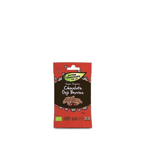 Raw Chocolate Co - Chocolate Goji Berries 28g