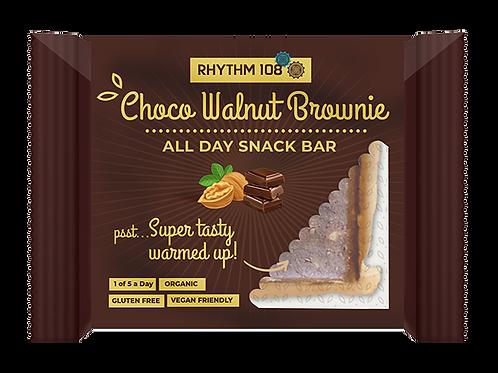 Rhythm 108 Choco Walnut Brownie Bar 40g