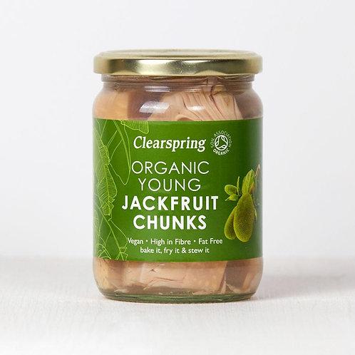 Trozos de Jackfruit Joven Clearspring