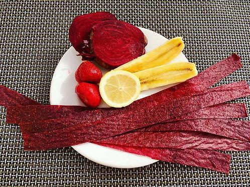 Beetroot & Apple Fruit Strips per 100g