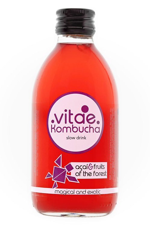 Vitae Kombucha Acai y Frutos del Bosque