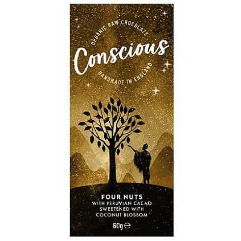 Conscious Chocolate - 4 Nuts 60g