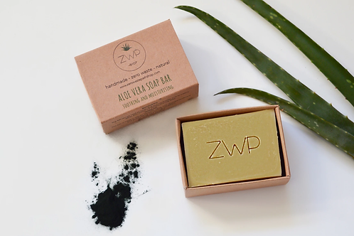 ZWP - Barra de jabón de aloe vera