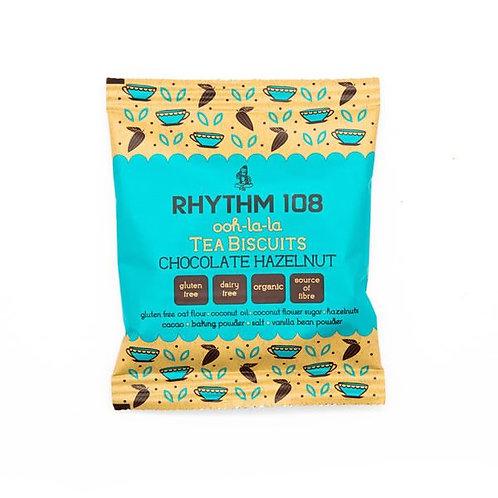 Rhythm 108 Chocolate Hazelnut Tea Biscuits 24g