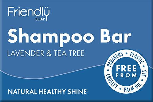 Friendly Shampoo Bar - Lavender & Tea Tree