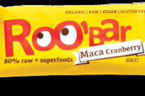 Roo Bar - Maca Cranberry 30g