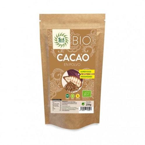 Sol Natural Organic Raw Cacao Powder 250g
