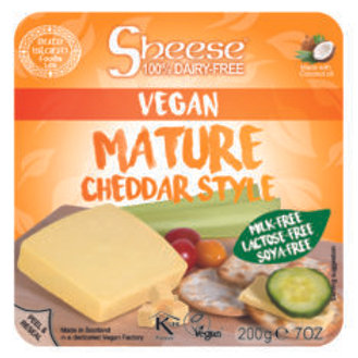 Queso Vegano Sheese Maduro Cheddar Style 200g