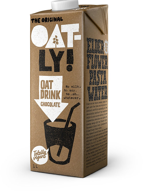 Oatly Chocolate Avena Leche con Calcio y Vitaminas 1 litro