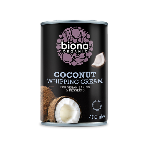 Biona Organic Coconut Whipping Cream 400ml