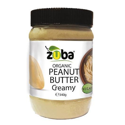 Zuba Smooth Peanut Butter  340g