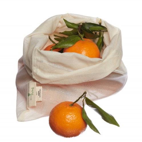 Comercio de bolsas ligeras de frutas y verduras orgánicas