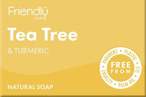 Friendly Soap - Tea Tree & Turmeric
