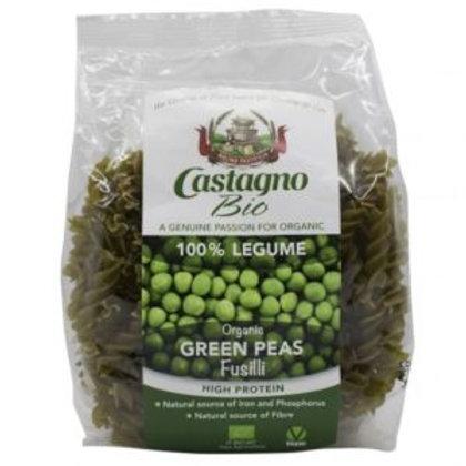 Castagno Bio - Fusilli de guisantes verdes