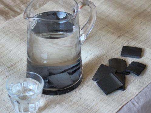 Paquete de 4 filtros de agua de carbón de bambú