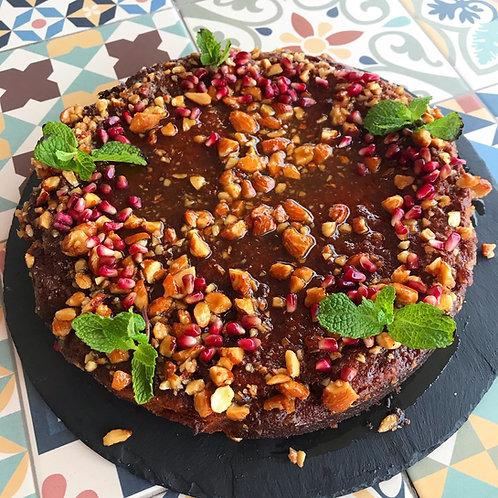 Orange and almond syrup cake (gluten free)
