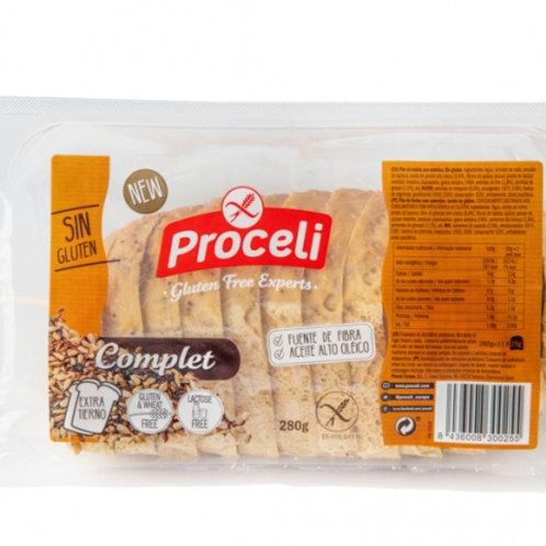 Proceli Wholegrain Gluten Free Bread 280g