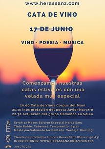 Cata de Vino en Heras Sanz