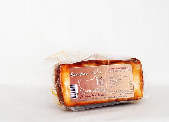 Queso de cabra con pimentón
