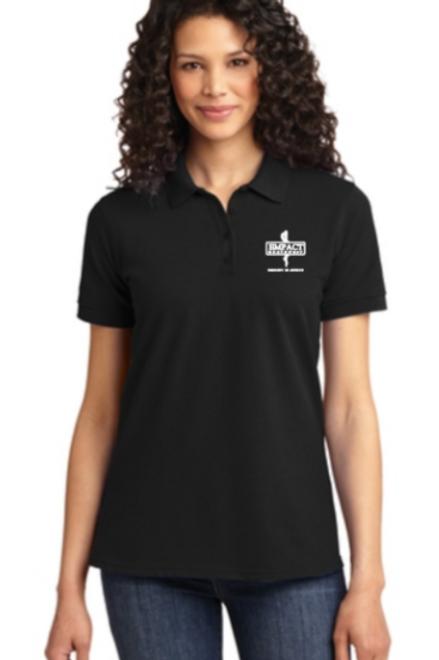 Black Empact Polo Shirt
