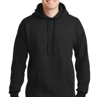 Hooded USAR Sweatshirt, Black
