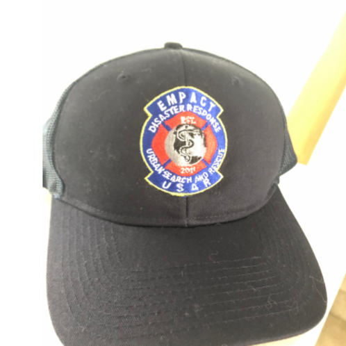 Port Authority® Snapback Trucker Cap with embroidered USAR logo