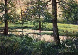"""Sunset on the Creek"""